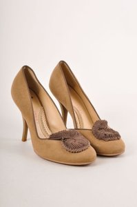 Stella McCartney Tan Brown Pumps