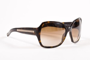 Valentino Valentino Tortoise Brown Studded Embellished Oversized Oval Sunglasses