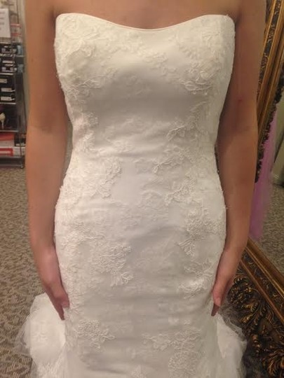 Maggie Sottero Ivory Lexie Formal Dress Size 14 (L)