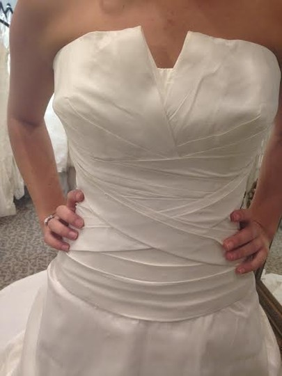 Pronovias Off White Monaco Formal Dress Size 16 (XL, Plus 0x)