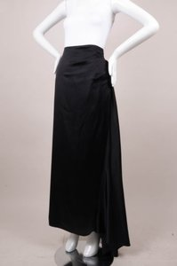 Nicole Miller Collection Maxi Skirt Black