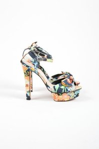 Loeffler Randall Multicolor Multi-Color Sandals