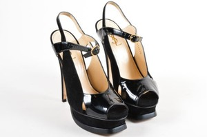 Saint Laurent Yves Black Pumps