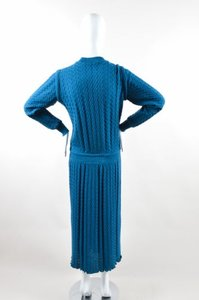 Missoni short dress Blue Teal Knit Woven on Tradesy