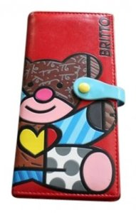 Romero Britto Britto passport wallet
