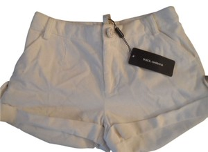 Dolce & Gabbana Mini/Short Shorts White