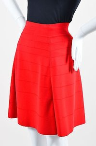 Yigal Azroul Azrouel Stretch Skirt Red