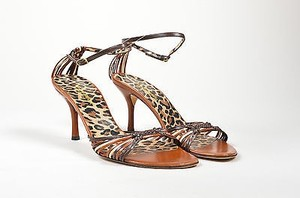 Dolce&Gabbana Dolce Gabbana Strappy Brown Sandals
