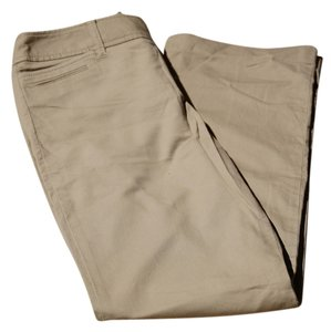Ann Taylor Khaki/Chino Pants Tan