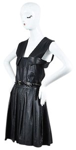 Other short dress Black Preen Line Simone Pleated Belted Overall on Tradesy