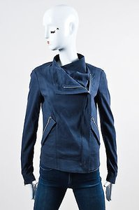 Donna Karan Zipper Motorcycle Jacket