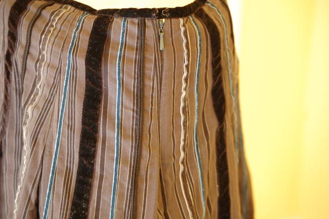 Talbots A-line Skirt Gray and Black Image 2