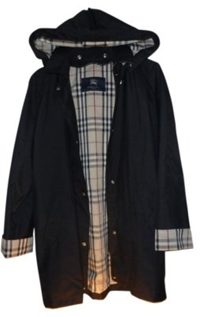 Preload https://item1.tradesy.com/images/burberry-black-raincoat-size-12-l-10980-0-0.jpg?width=400&height=650
