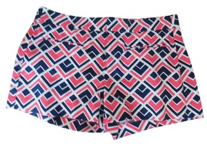 Gap Geometric Pink Navy Blue Shorts