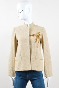 Marc Jacobs Metallic Gold Jacket