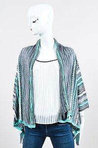 Missoni Turquoise Gray Purple Sweater