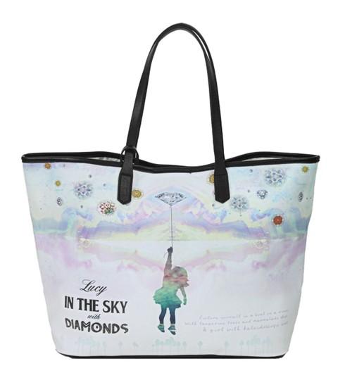 Lords of Liverpool Tote in Ivory combo