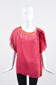 Marc Jacobs Silk Top Pink
