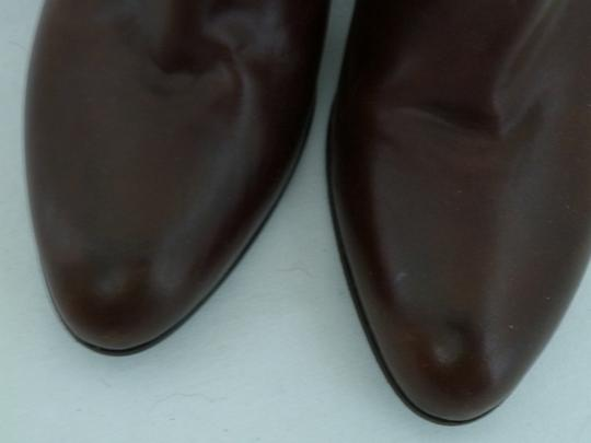 Cole Haan Leather Ankle Brown Boots