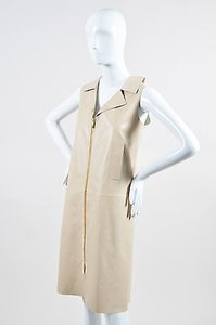 Oscar de la Renta short dress Beige on Tradesy