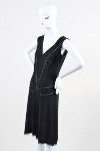 CoSTUME NATIONAL short dress Black on Tradesy