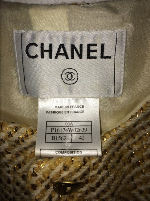 Chanel 3 Piece Chanel Skirt Suit