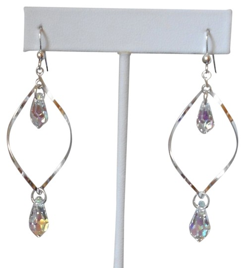 Denali Sterling Silver and Swarovski Crystal Earrings Image 0