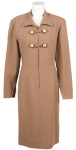 Valentino Vintage Tan Woven Dress