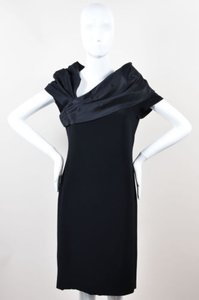 Bill Blass Asymmetric Dress