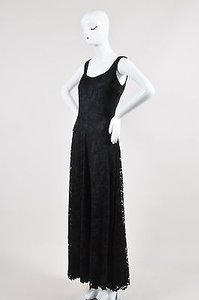 Black Maxi Dress by Giorgio Armani Lace