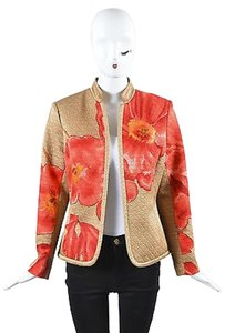 Neiman Marcus Gold Red Multi-Color Jacket