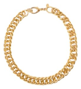 Erwin Pearl Gold Tone Chain Link Choker Necklace