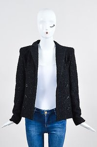 Bottega Veneta Wool Black Jacket