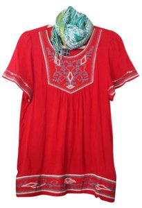 A`postrophe Cotton Top Red