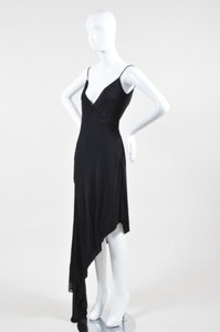 Badgley Mischka short dress Black Braid on Tradesy
