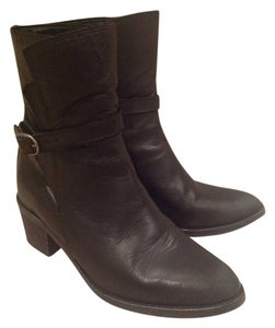 AllSaints Motorcycle Low Everyday Black Boots