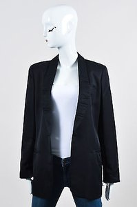 Louis Vuitton Louis Vuitton Black Silk Blend Tuxedo Blazer Jacket