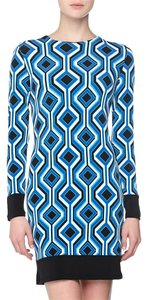 MICHAEL Michael Kors Diamond Geo Print Shift Retro Dress