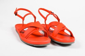 Fausto Santini Leather Red Sandals