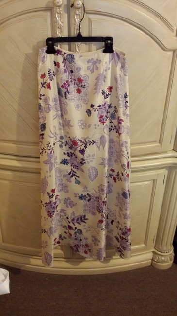 Ann Taylor Skirt floral colorful
