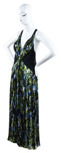 Multi-Color Maxi Dress by Givenchy Black Green Blue