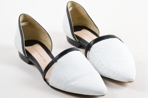 Crosby Derek Lam Black White Flats