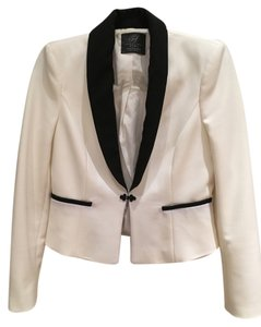 Zara black and white Blazer