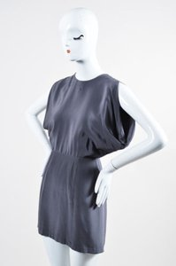 wren short dress Gray Slate Silk Peek A on Tradesy