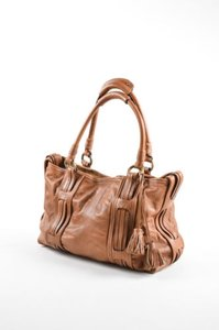 Marc Jacobs Leather Tote in Brown