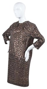 N°21 short dress bronze 21 Sequin Embellished on Tradesy