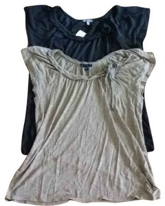 Gap Top Charcoal Grey
