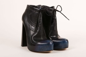 Alexander Wang Blue Leather Boots