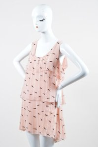 Karl Lagerfeld short dress Pink Pale on Tradesy