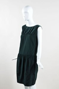Dries van Noten short dress Green Hunter on Tradesy